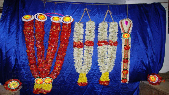 tirumala marriage contractor - garlands 01