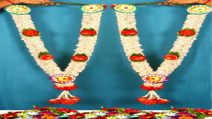 tirumala marriage contractor - garlands 14