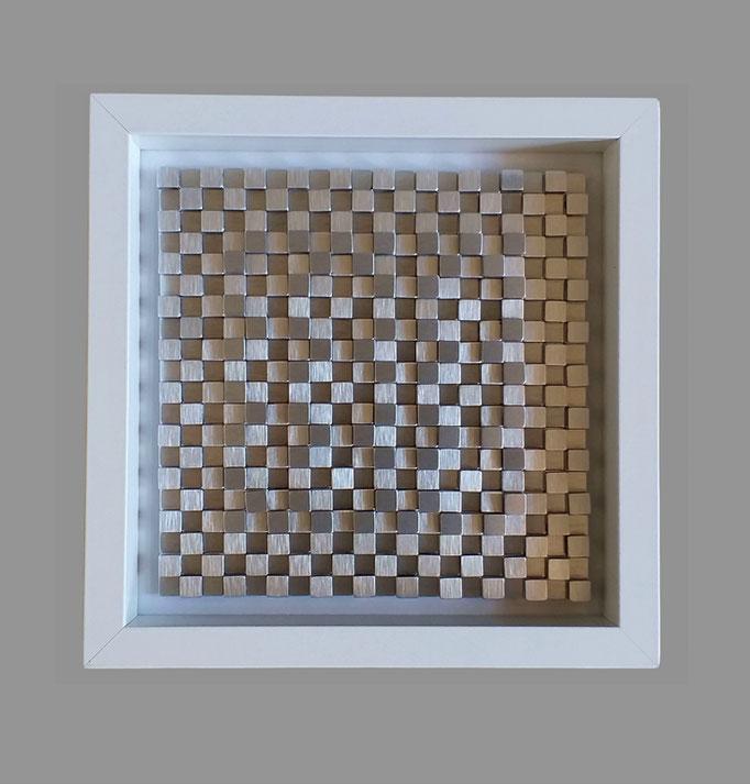 tetrix II - 19 - Holz, Glas, Pappe, Kunststoff, Metall - 25 x 25 x 6