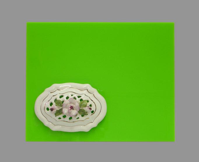 PRO XVIII - 13 -Acryl, Porzellan - 25 x 20 x 6