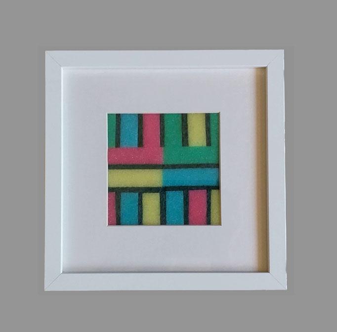 sponge - 15 - Holz, Glas, Pappe, Kunststoff - 25 x 25 x 6