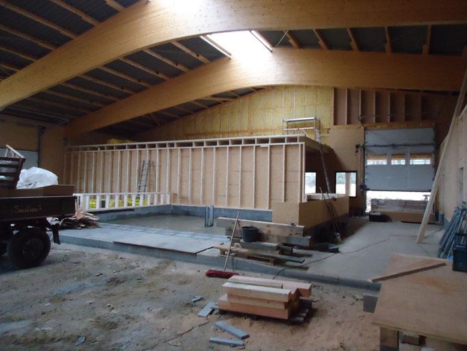 Ausbau einer Neubau Reithalle