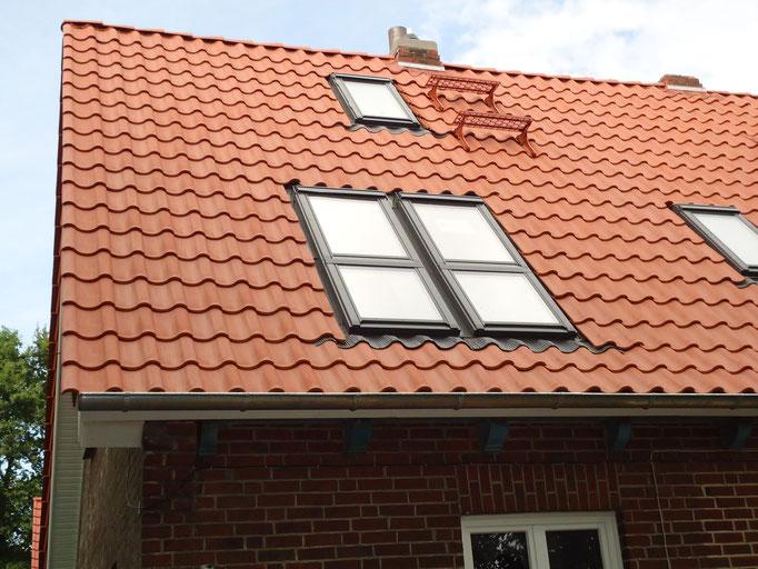 ernergetische Sanierung eines Altbaudaches mit Einbau von Dachflächenfenstern