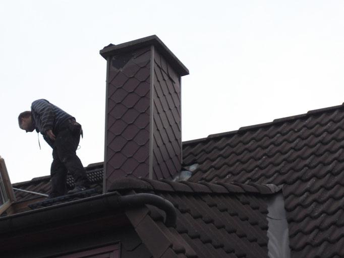Sanierung eines Schornsteins