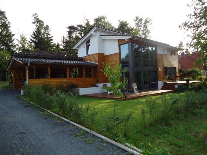 schlüsselfertiges Haus in Holzrahmenbauweise
