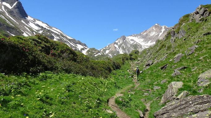 Aufstieg zum Lago del Sabbione