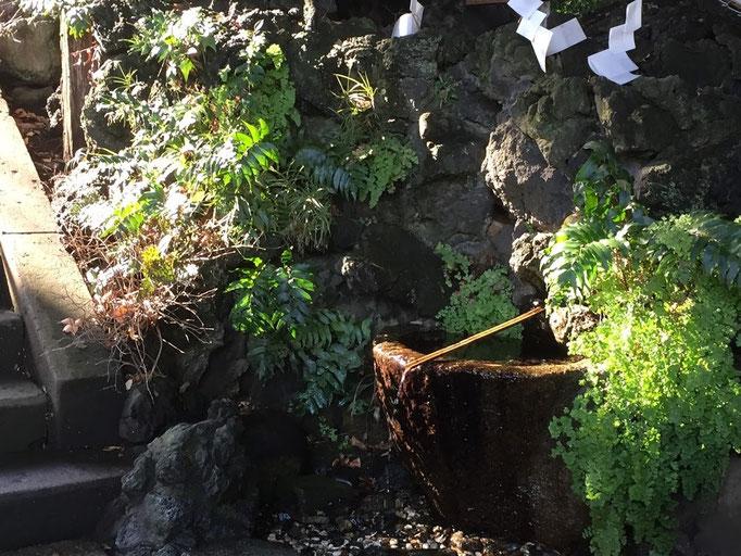 八幡神社 湧き水