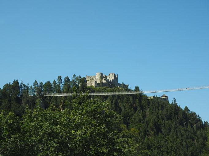 Ruine Ehrenberg in Reutte Tirol