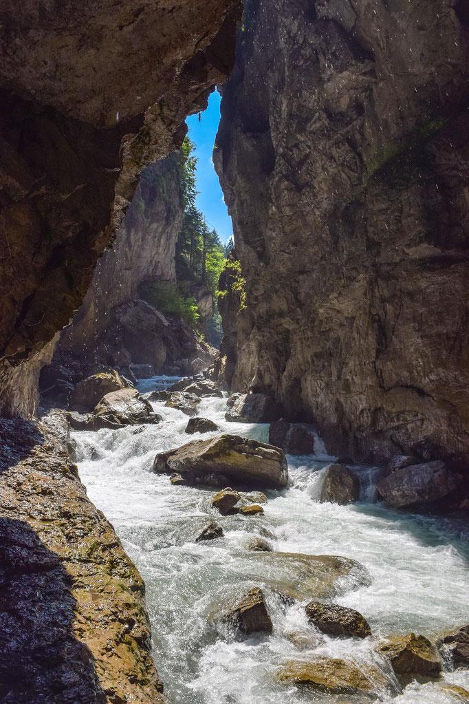 Beautiful nature in Garmisch Partnachklamm