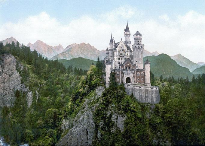 PURE.allgäu the fairy tail Neuschwanstein castle