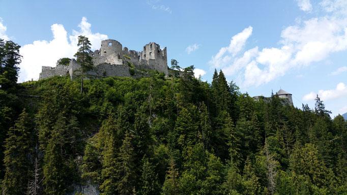 Ruine Ehrenberg in Reutte in Tirol
