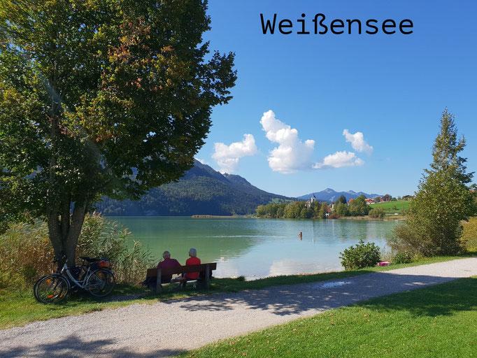 Weißensee in Füssen
