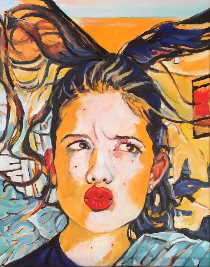 'Kiss' 50x40cm €725