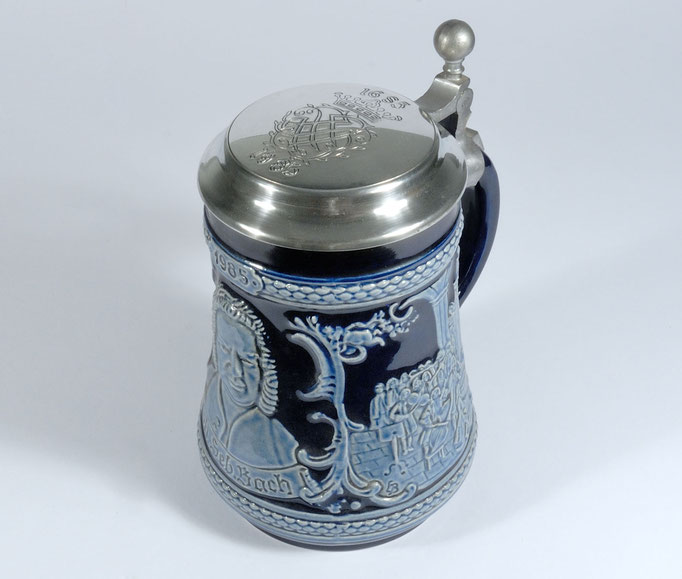The Bach Beer Stein, a Music Gift.