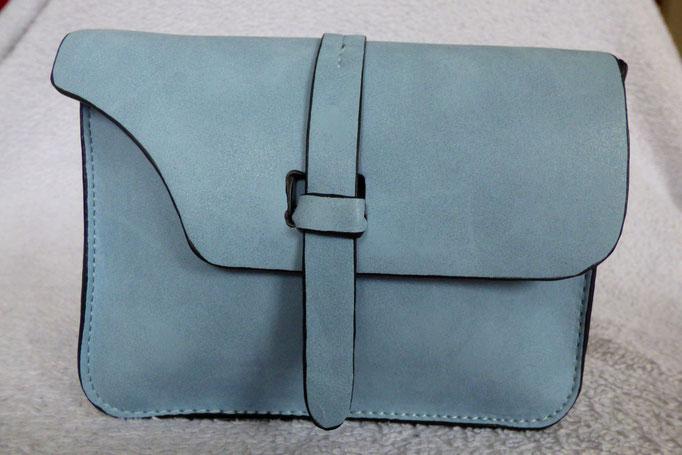 mini sac gris bleu