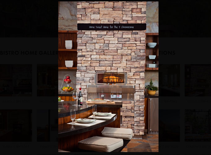 Woodstone Home Pizzaofen Outoorküche