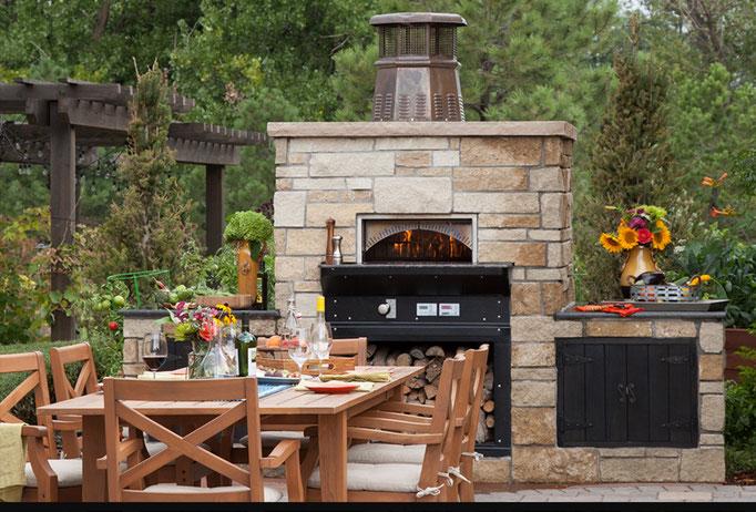 Woodstone Home Holzbackofen Outdoor