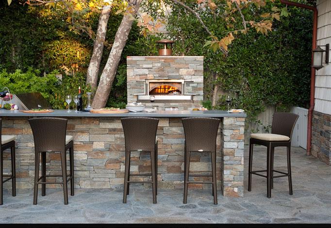 Woodstone Home Steinofen für Außenküche