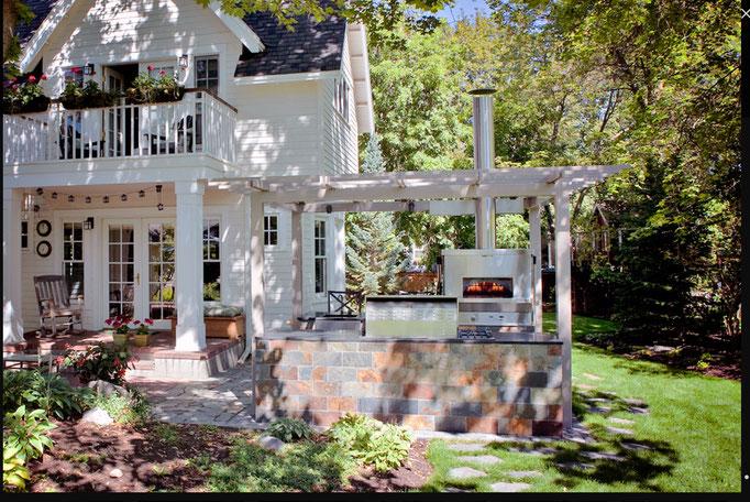 Woodstone Home Außenküche Backofen