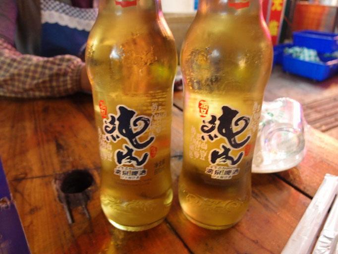 地元の「漓京啤酒」は燕京啤酒の子会社のようです。