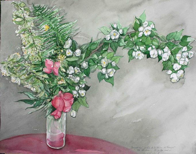 Le bouquet de François