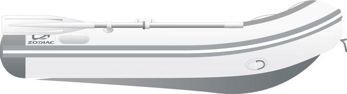 Zodiac Cadet 230 AERO - Rubberboot Holland Aalsmeer