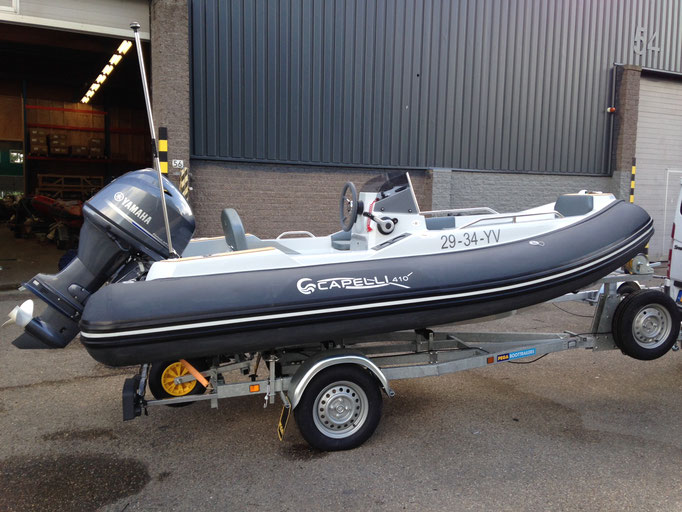 CAPELLI TEMPEST 410 YACHTTENDER - Rubberboot Holland Aalsmeer