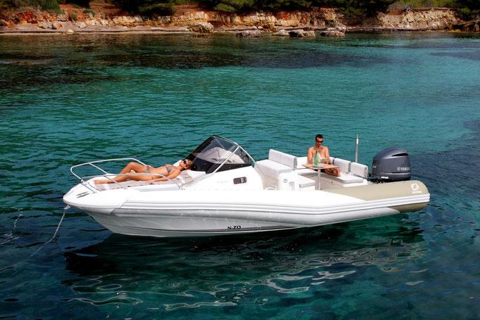 Zodiac NZO 700 Cabin for sale te koop Rubberboot Holland Aalsmeer