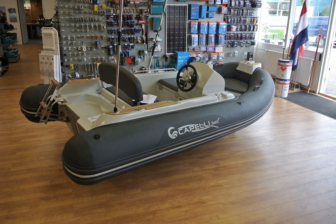 CAPELLI TEMPEST 340 TOP YACHTTENDER - Rubberboot Holland Aalsmeer