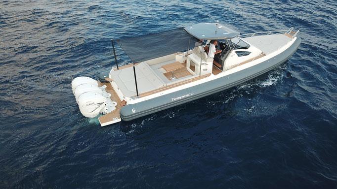 Capelli Tempest T44 Luxery RIB for sale te koop Rubberboot Holland Aalsmeer