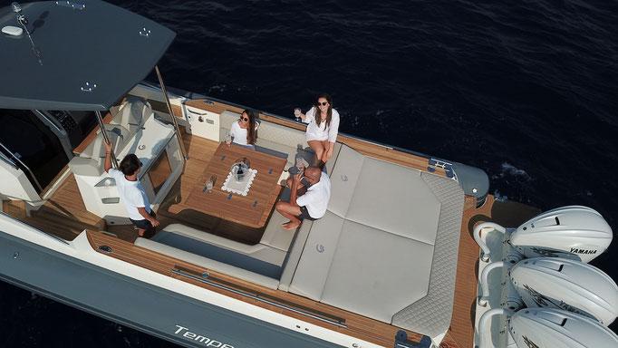 Capelli Tempest T44 Luxery RIB te koop for sale NIEUW Rubberboot Holland Aalsmeer