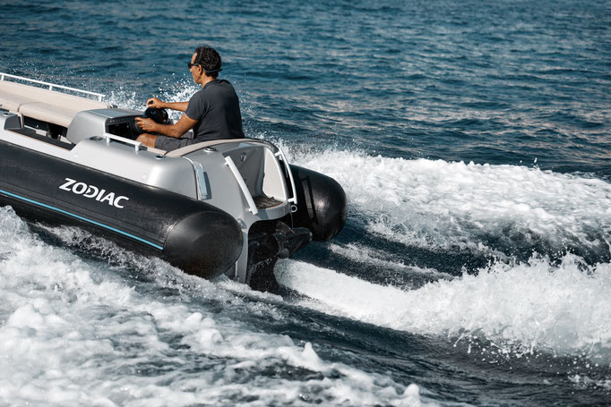 Zodiac electric Jet tender eJET 450 for sale te koop Rubberboot Holland Aalsmeer