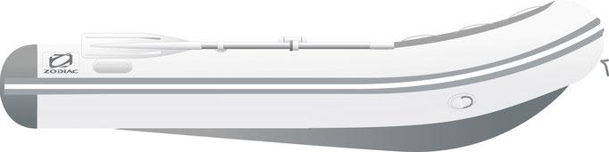 Zodiac Cadet 310 ALU - Rubberboot Holland Aalsmeer