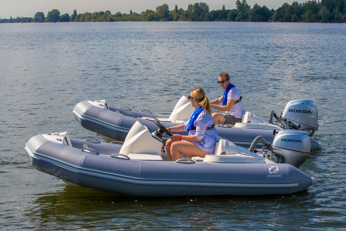 Zodiac Yachtline 360 Deluxe RIB for sale te koop Rubberboot Holland Aalsmeer