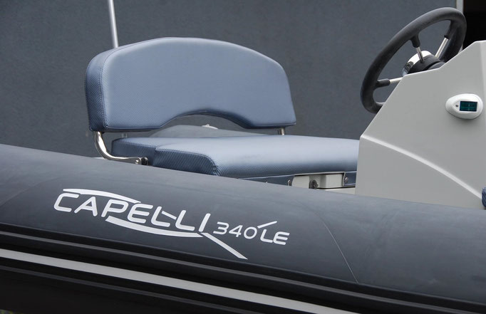 CAPELLI TEMPEST 340 LE YACHTTENDER - CUSTOM - Rubberboot Holland Aalsmeer