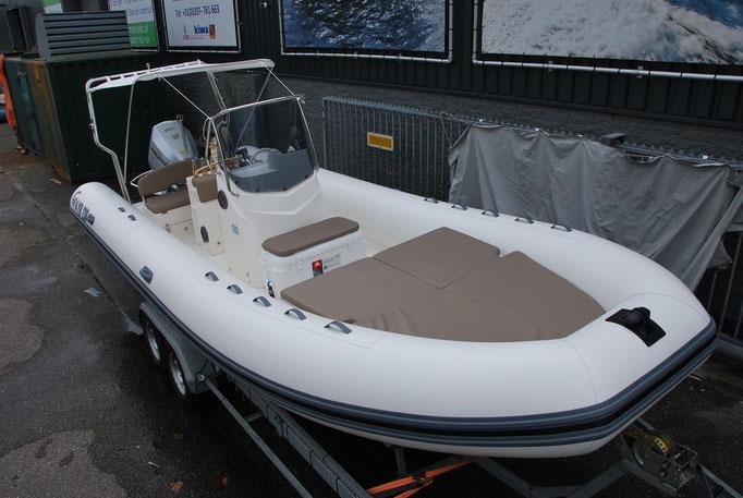 CAPELLI TEMPEST 700 WORK - CUSTOM - Rubberboot Holland Aalsmeer