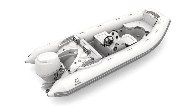 Zodiac Yachtline 490 Deluxe RIB for sale te koop Rubberboot Holland Aalsmeer