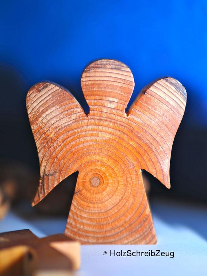 Engel aus einem aus dem 15.Jhd. stammenden Kirchenpfosten