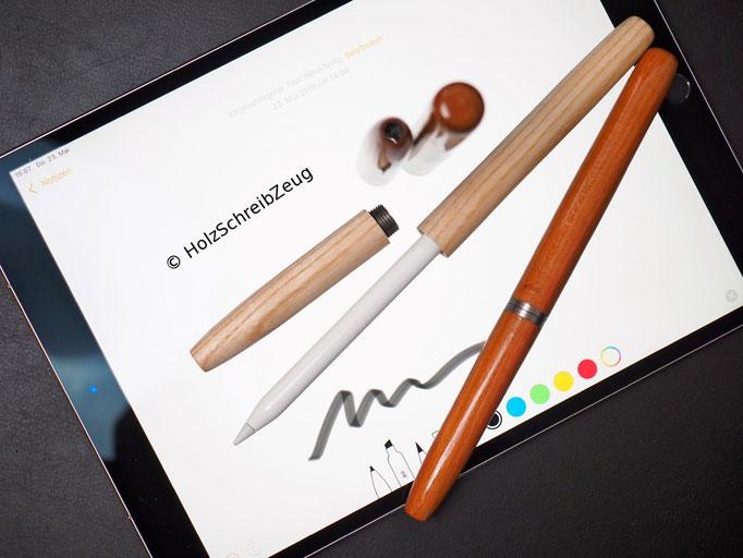 Apple Pencil Case Holz (Esche und Kirsche)