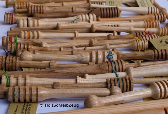 div. Honiglöffel aus edlem, heimischem Holz