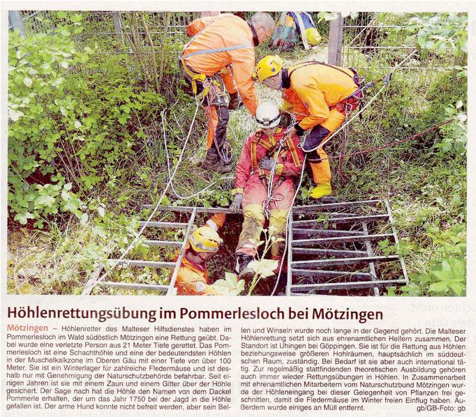 16.06.15 Pommerlesloch - Gäubote