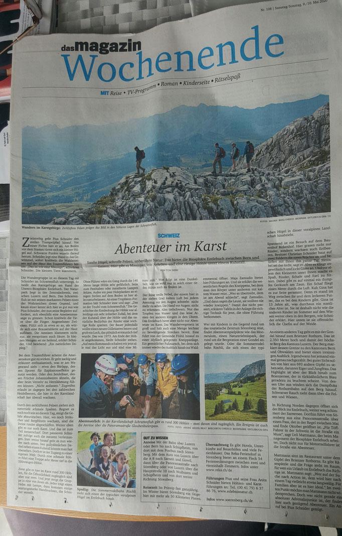 Beitrag in der Paderborner-Zeitung vom 10.05.2020
