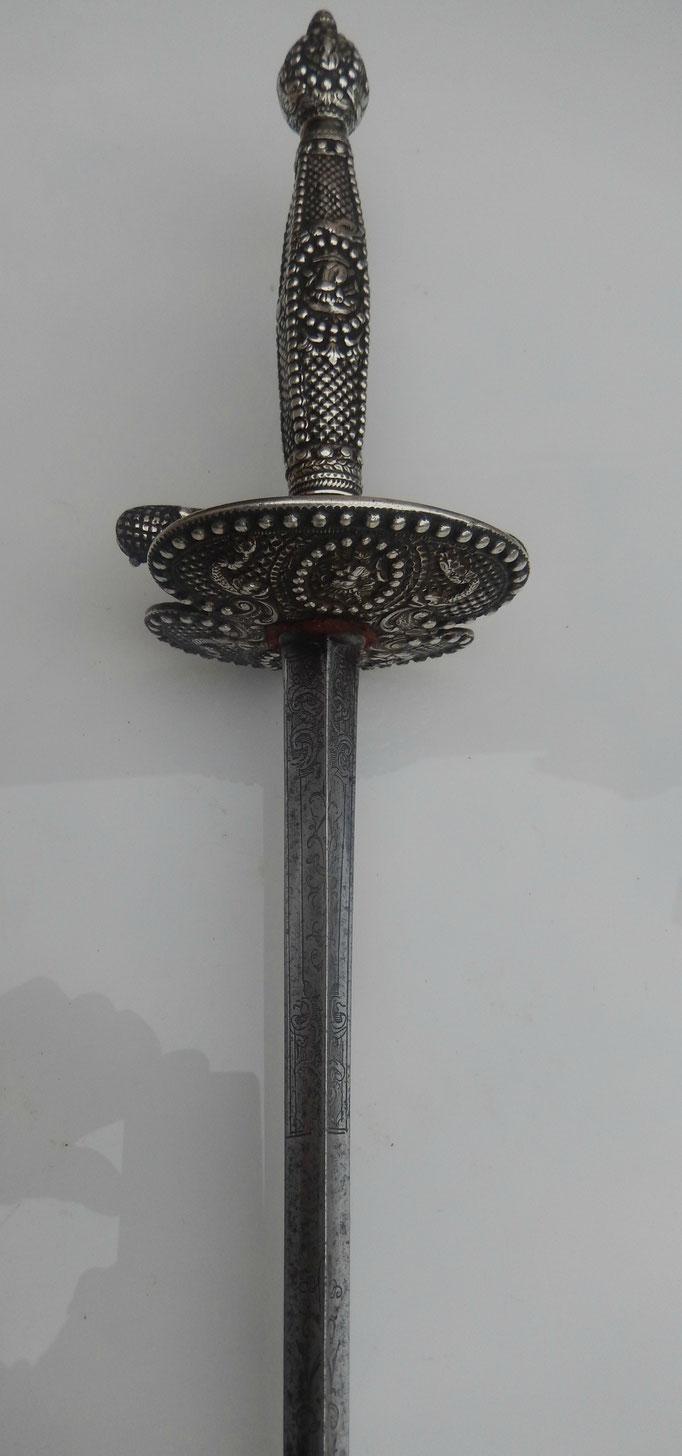 épée en argent