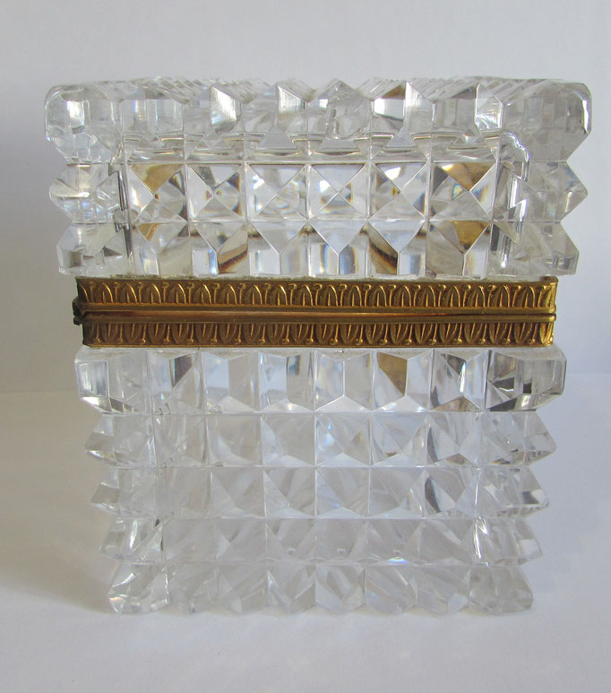 coffret en cristal de Baccarat ,Saint Louis
