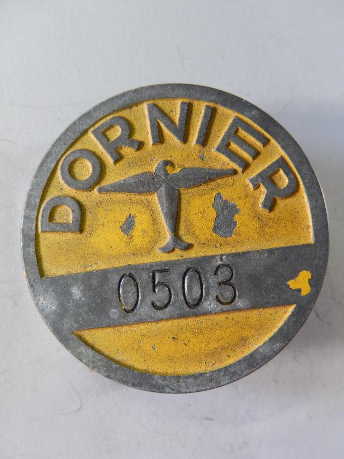 badge usine Dornier 0503 prix 90 euros