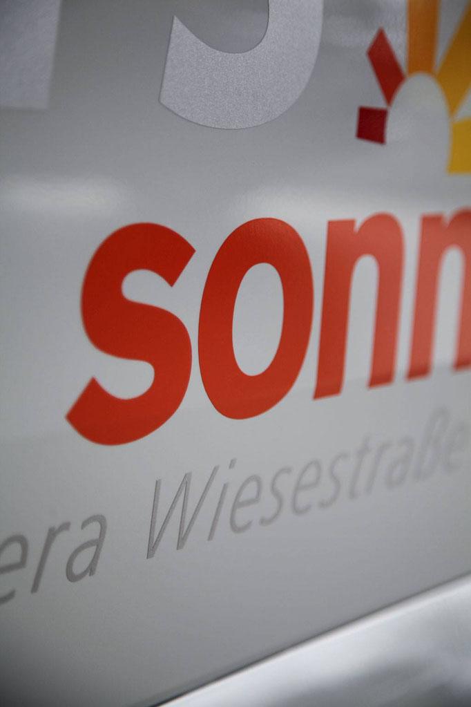 folien-fabrik / Sonnenklar Reisebüro / Corporate Identity