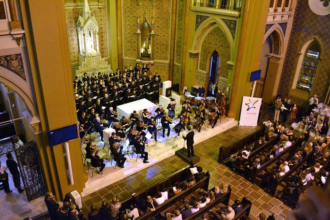 Curitiba Brasil - Catedral - Ein deutsches Requiem Op. 45 Brahms