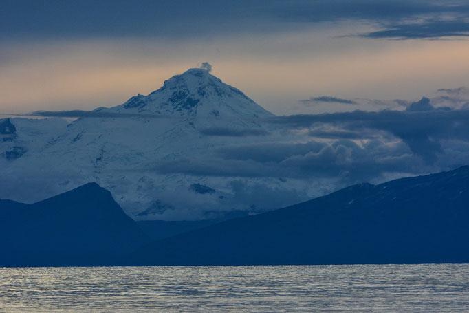Mount Redoubt Vulcano