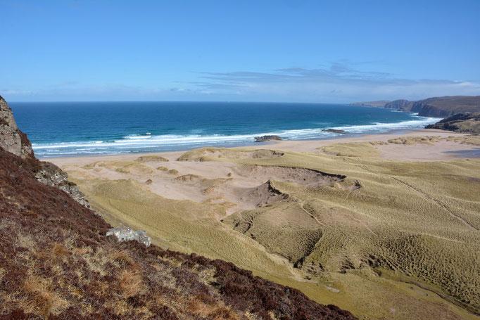 Sandwood Bay im einsamen Nordwesten