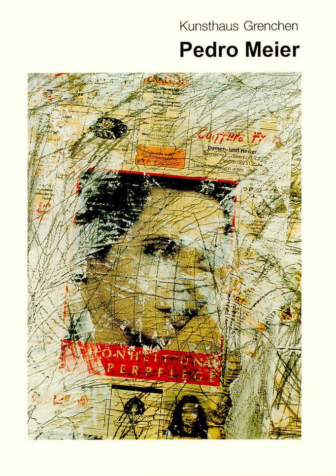 Pedro Meier – Kunsthaus Grenchen Solo-Ausstellung – »Flugbilder Atlantikflug Charles Lindbergh« 1995 – Foto © Pedro Meier Multimedia Artist – Atelier: Niederbipp Gerhard Meier Weg – Olten – Bangkok
